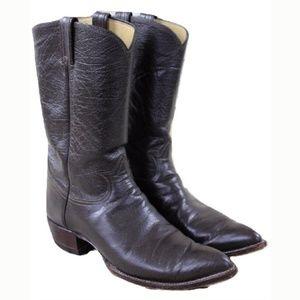 Tony Lama 5010 Gray Cowboy Boots MENS 12.5 A GB-L